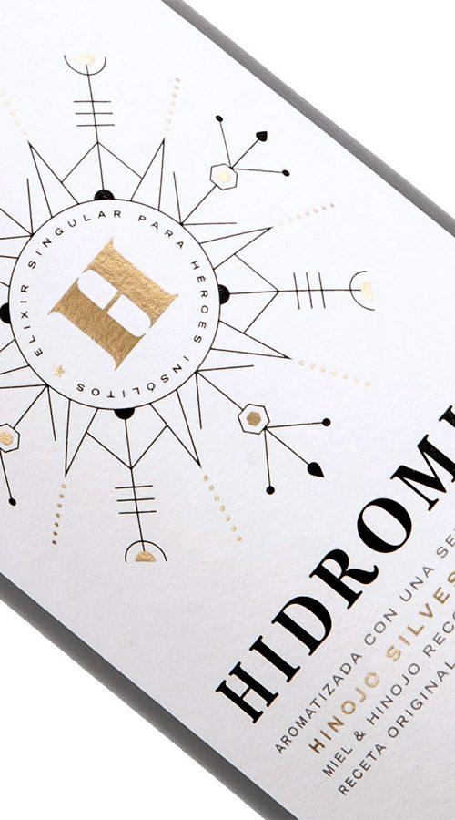 Hidromiel etiqueta - Eva Arias Graphic Studio