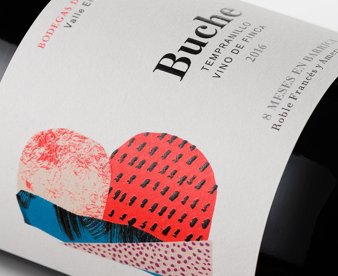 Buche etiqueta - Eva Arias Graphic Studio