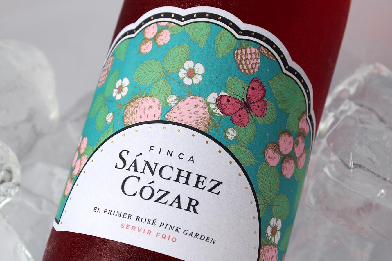 Finca Sánchez Cózar rosado - Eva Arias Graphic Studio