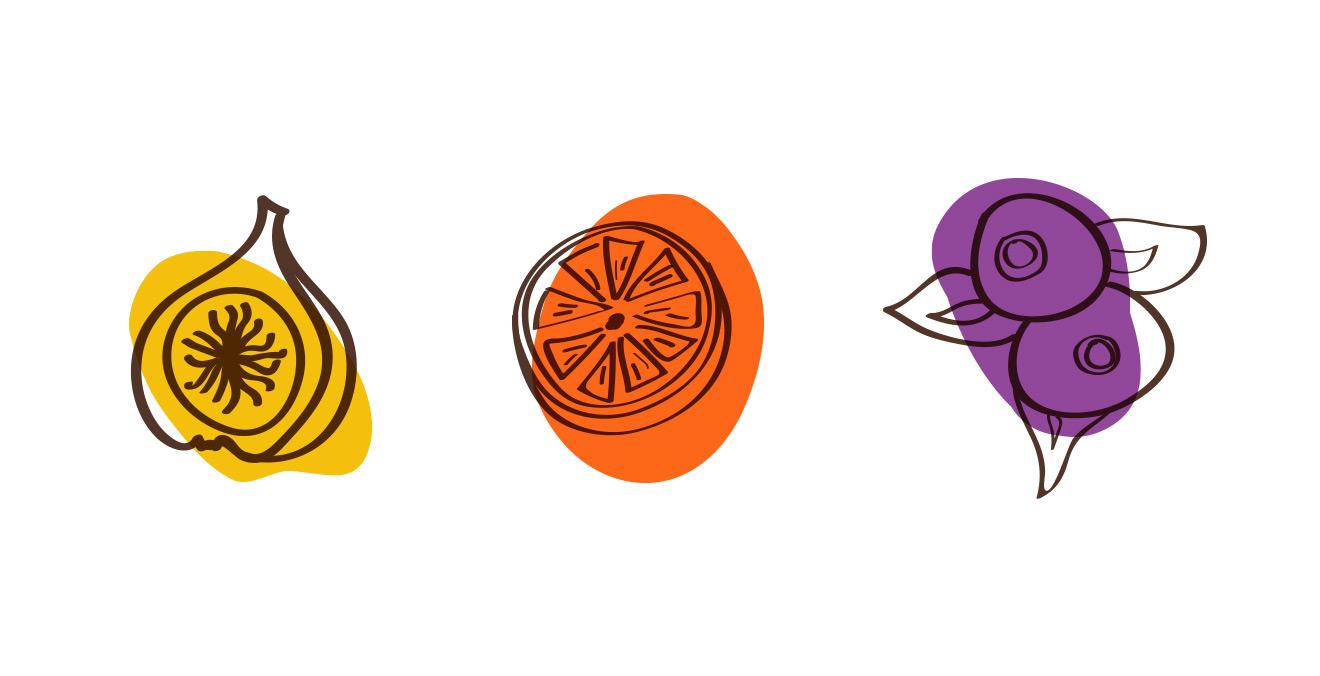 Ilustraciones Ecoficus - Eva Arias Graphic Studio