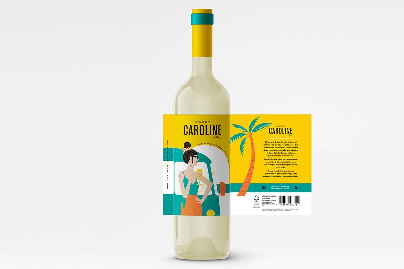 Sweet Caroline Vibes - Eva Arias Graphic Studio